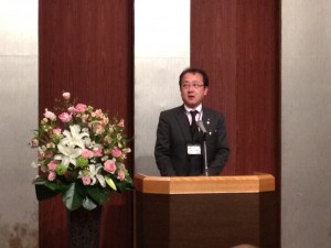 掛川YEG山本会長の挨拶
